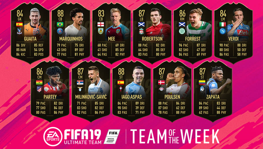 FIFA 19 Ultimate Team: Andy Robertson, Marquinhos & Milinkovic-Savic Star in TOTW 29