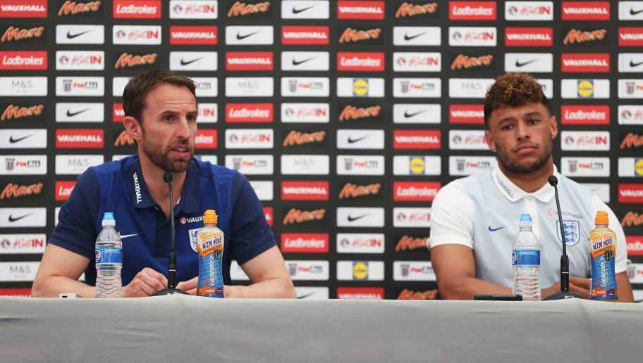 Gareth Southgate Makes Surprise Alex Oxlade-Chamberlain Claim After Call-Up to England Squad