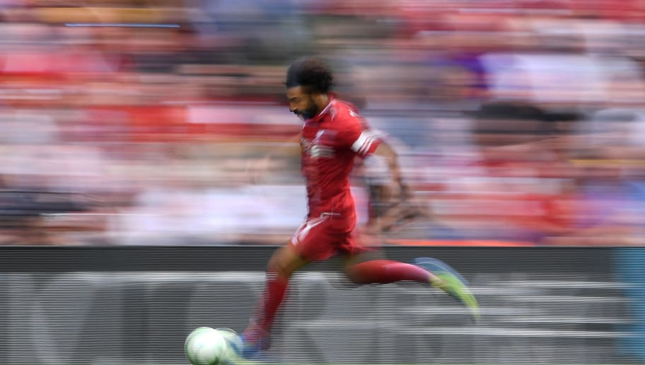 Mohamed Salah Runs on Water to Promote New adidas X19+ Boots