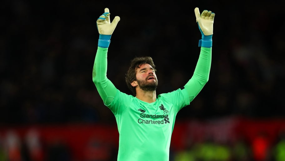 Alisson Headlines Yachine Trophy Shortlist With Four Premier League Goalkeepers Nominated