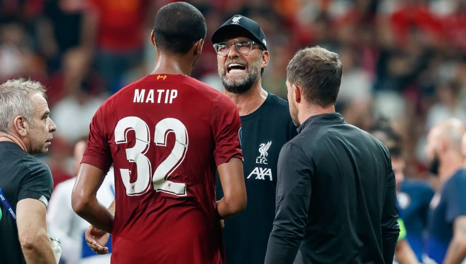 Jurgen Klopp Provides Injury Update on Joel Matip Ahead of Merseyside Derby