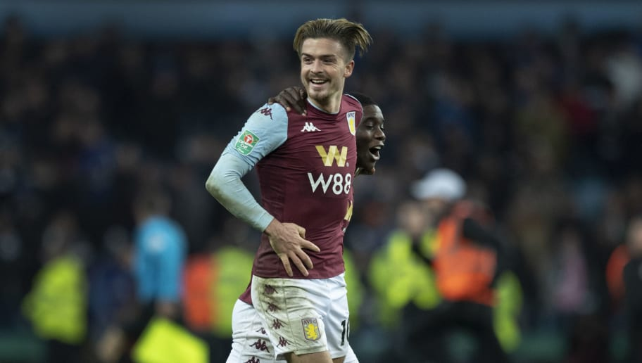 Jack Grealish 'Tells Friends' He Wants Manchester United Move