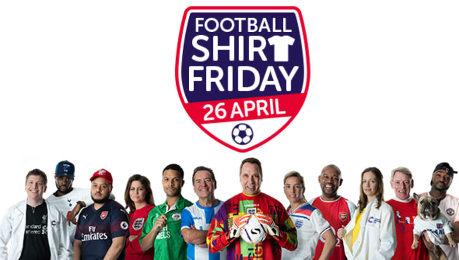 Football Fans Urged to Take Part in 'Football Shirt Friday' Fundraiser in Aid of Cancer Research UK