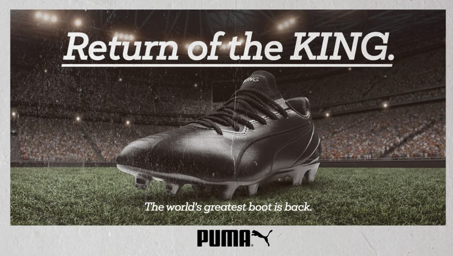PUMA Announce Return of Iconic 'King' Boot in Partnership With Thierry Henry