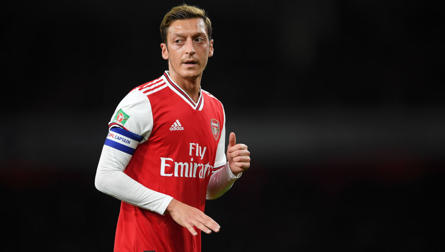 Mesut Ozil 'in Talks' With Fenerbahce Over January Loan Departure From Arsenal