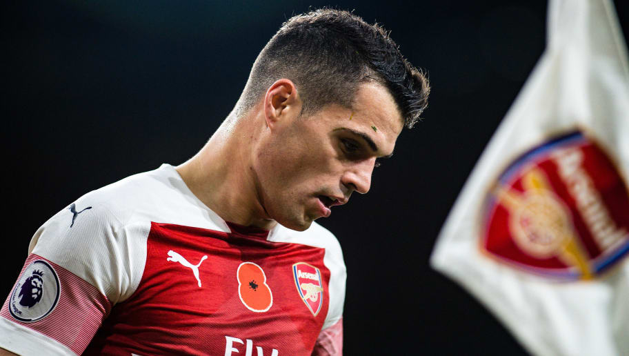 Unai Emery Admits Granit Xhaka Might Not Play for Arsenal Again After Fallout With Fans