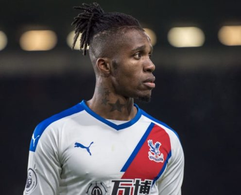 Roy Hodgson Expecting Another Wilfried Zaha Transfer Scramble in January After Return to Form