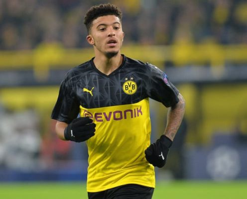 Manchester United 'Believe' They're Leading the Race to Sign Jadon Sancho in 2020