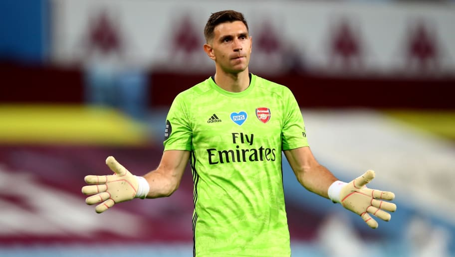 Aston Villa Confirm Signing of Emiliano Martinez From Arsenal on Four-Year Deal