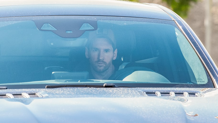 Lionel Messi Finally Returns to Barcelona Training
