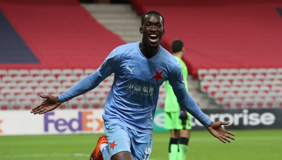 Abdallah Sima: Things to know about the Slavia Prague forward