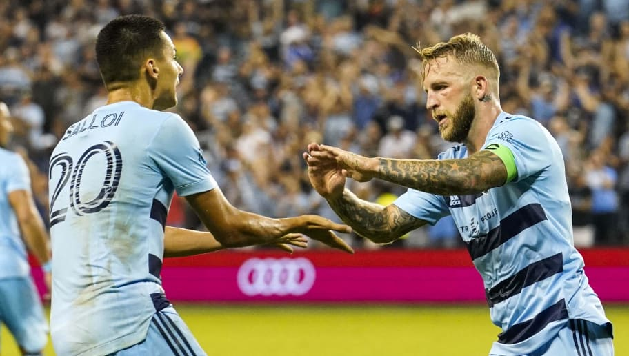 Johnny Russell hails 'untouchable' Daniel Salloi after goal in Sporting KC win