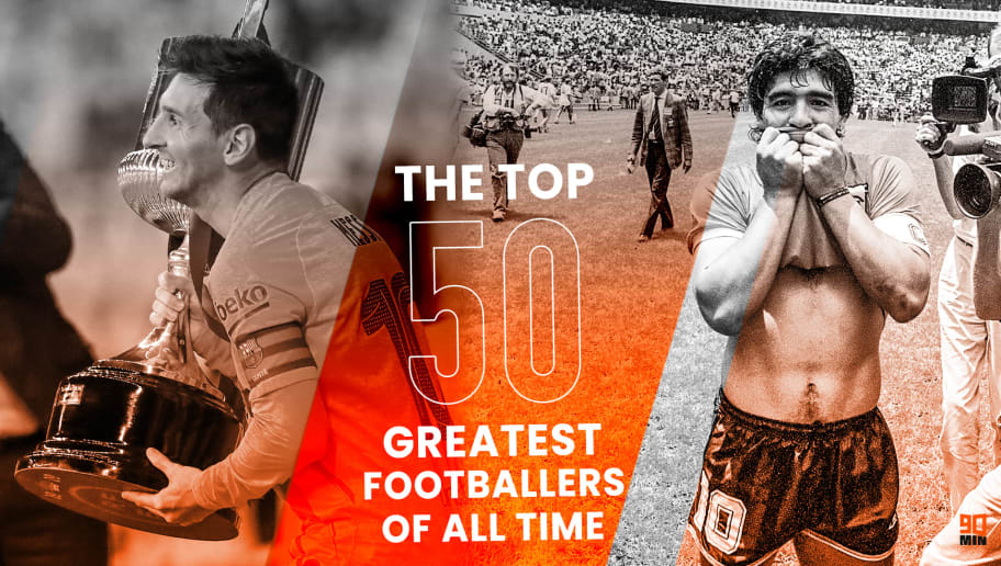 The 50 greatest footballers of all time